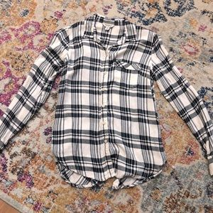 Lucky Brand Button Front Flannel